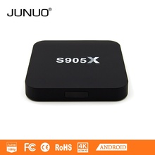 JUNUO 2016 New Type Bestseller 4k Android 6.0 free download google android tv box