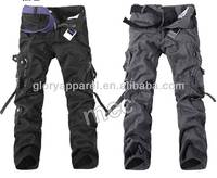 New brand mens cargo pants with many pockets