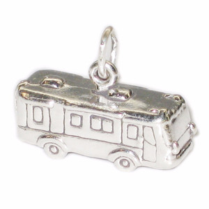 China Manufacturer Fashion Antique Silver Plated RV Camper Motor Home Charms Jewelry
