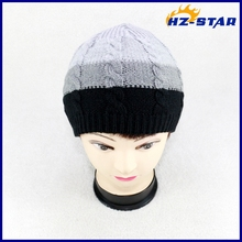 HZM-14196007 2015 fashion new design knitted woolen made winter children felt hats