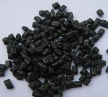 2016 New popular pvc recycled black granules