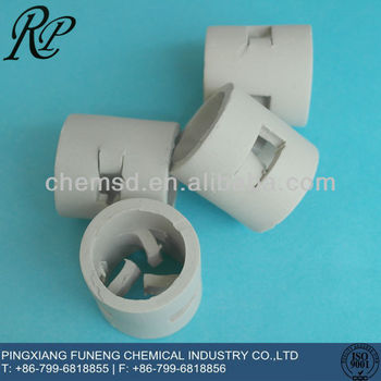 25mm 38mm 50mm Ceramic Pall Ring for tower packing