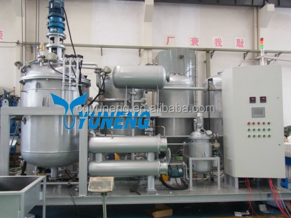 YNZSY Series Waste Engine Oil Recycling Machine / Used Motor Oil Refining Plant