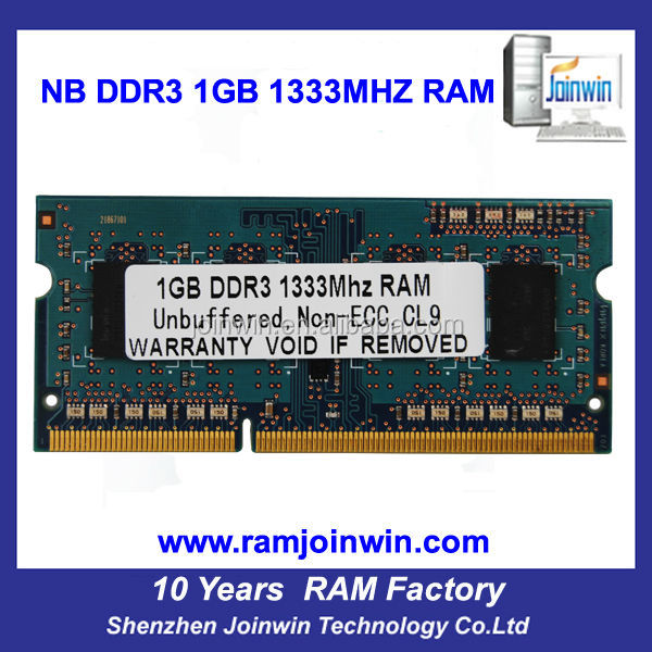 FCC CE RoHS 64mb*8 1gb wholesale ddr3 ram for laptop
