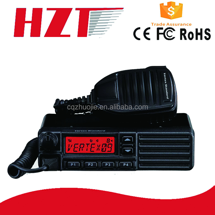 Most Powerful 50W Dual Band VHF UHF Digital 100 Mile Vehicle Mounted Mobile Car Radio Walkie Talkie 50KM Vertex VX-2200