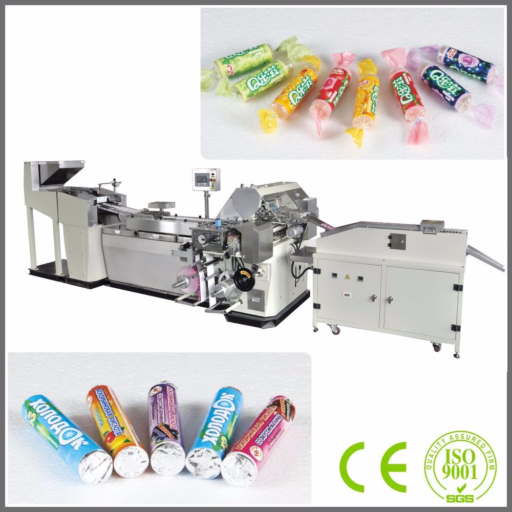 Tablet Candy Wrapping Machine / Jelly Candy Making Plants / Jelly Candy Wrapping Machine