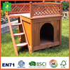 New Design Fashional Fir Wood Dog House, Handmade Easy Assembled Small Wooden Dog House