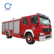 HOWO 4*2 fire trucks for sale in europe
