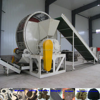 tire recycling machine for rubber machine