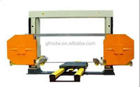 Stone cutting wire saw machine with KXJ 1500 Block Line Cutting Wire Saw Machine