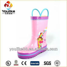 YL7192 Wholesale Girls New Sex Wellies Rain Boots