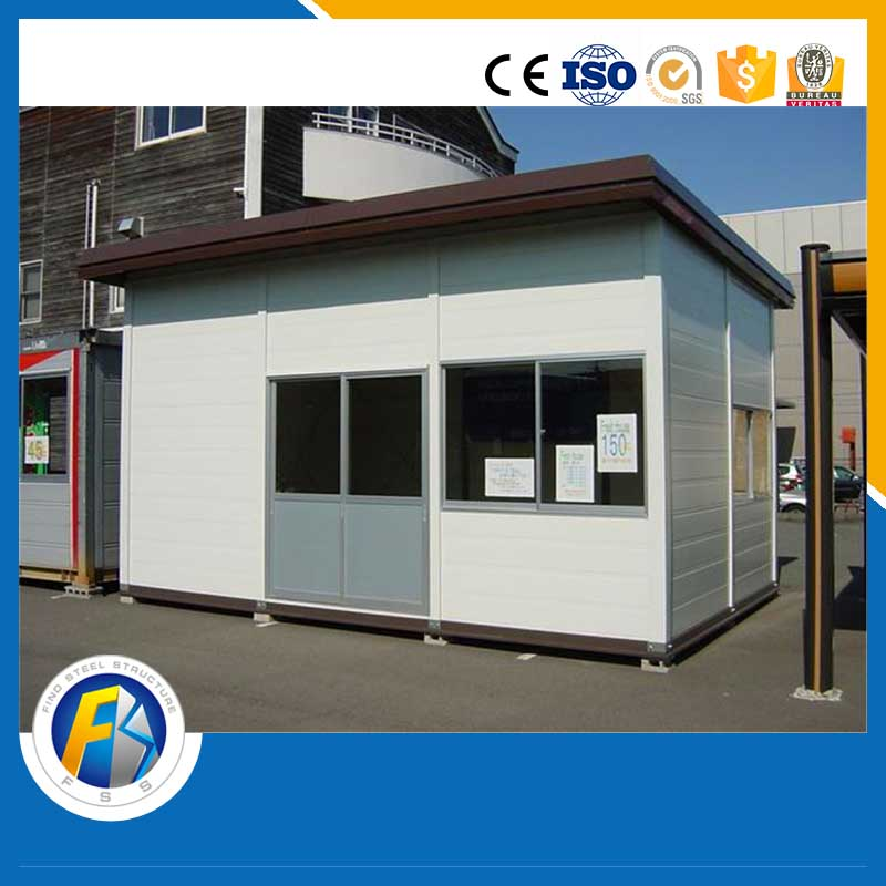 Waterproof ticket selling house temporary shop