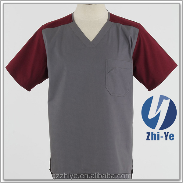 hospital new fashion men's medical scrub