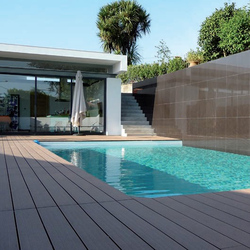 WPC BAMBOO FLOORING WOOD-PLASTIC COMPOSITE OUTDOOR DECKING