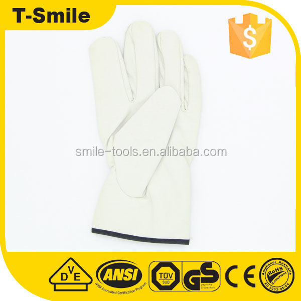 Durable cow split leather gloves for sale tig welding glove