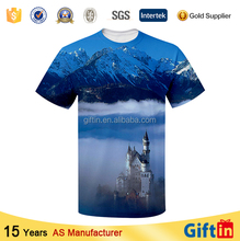 Fashion individual high-light wholesale men led tshirt