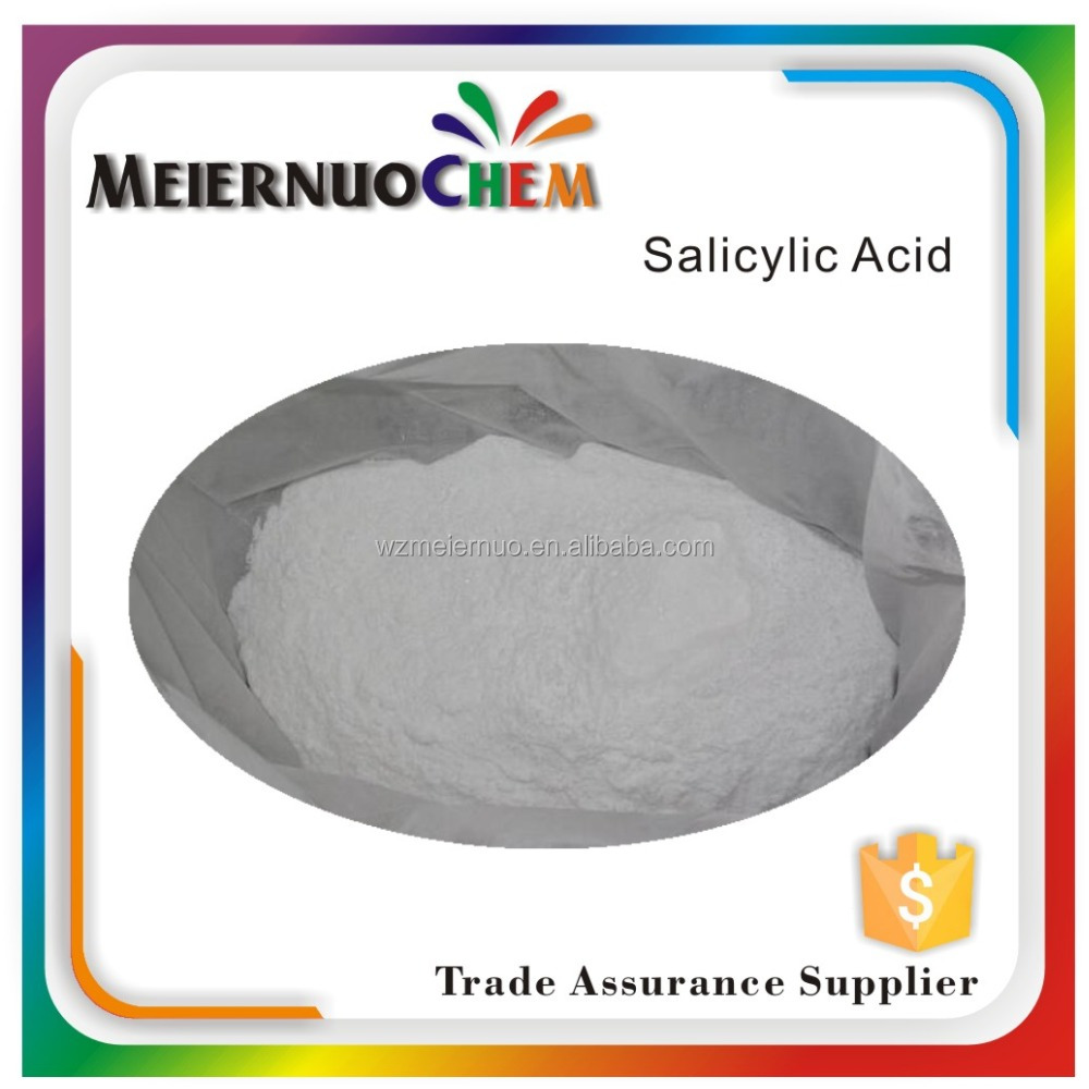 free sample industrial grade Salicylic acid 69-72-7 Dyes Intermediate