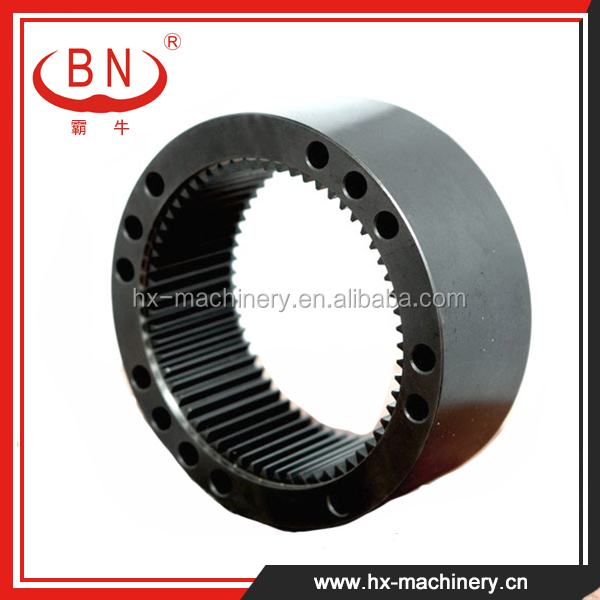 New Age Products Apply to KOMATSU PC130-7 Excavator Rotating Gear Ring For Sale