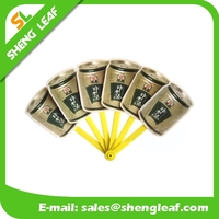 Promotion gift Chinese bamboo paper hand fan custom printed