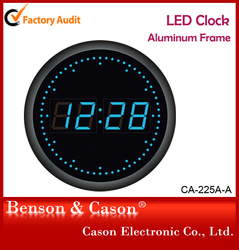 China home decor wholesale LED clock use in kitchen and bedroom
