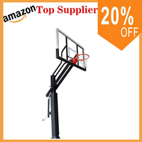 Good Quality fiber glass portable basketball hoop