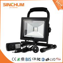 Camping Floor Security 50W Portable Battery Powered Led Flood Lights