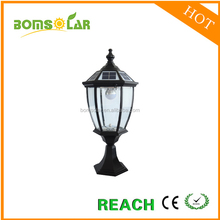 2016 customized outdoor solar fence light with 3.5w LED