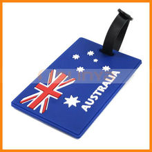 Word Cup Soccer Fans Professional Luggage ID Address Name Card Flag Tag