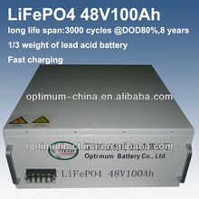 professional manufacturer of lithium iron phosphate battery pack 48V 100Ah for communication base station