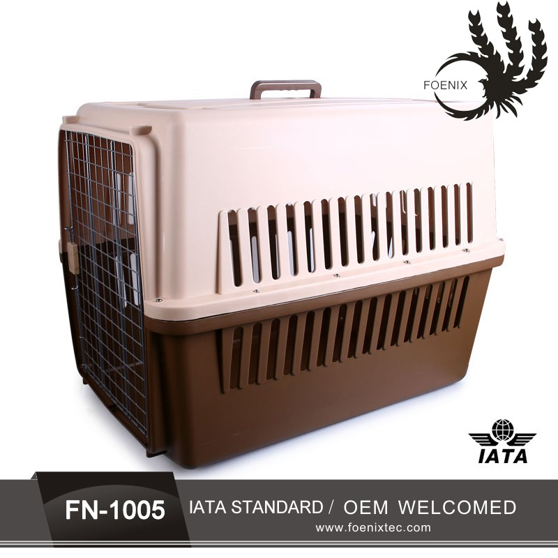 Easily transport pet cage best pet travel carrier with windows portable dog kennel