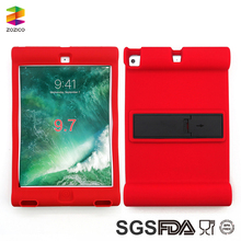 For Ipad 9.7 Inch 2017 Factory Price Scratch-proof Shock-proof Silicone Protecting Cover Case