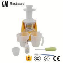2015 hot gifts natural fruit juice press machine with mask making