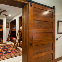 Standard dimension veneered stile barn doors for rustic house