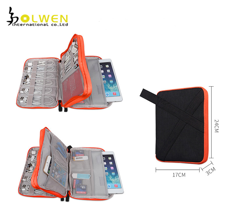 Hanging Travel Cable Organizer Elastic Rope Organizer for Electronic Products