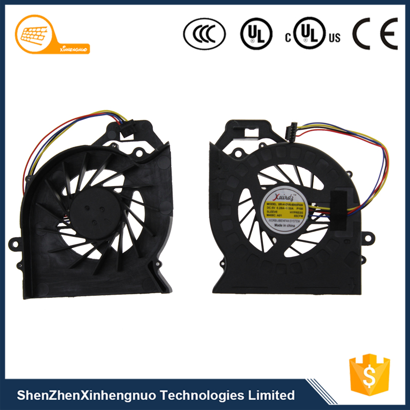 High Quality CPU Fan Notebook Cooler For HP DV6-6000 DV6-6050 DV7-6B DV7-6C Series