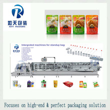 whole life warranty Heat Sealable Laminated Roll, Instand Noodles Automatic Horizontal packing Machine