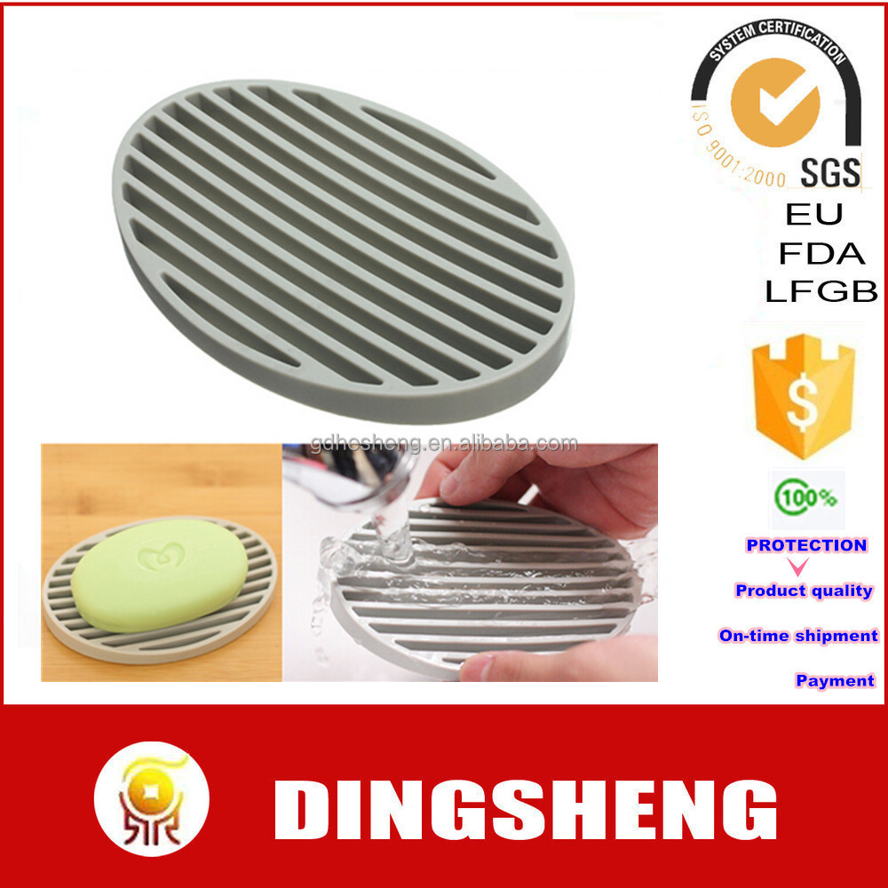 Reused Durable Silicone Soap Mat,Silicone Soap Saver,Silicone Soap Tray