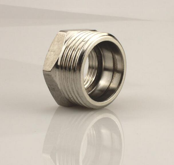 Stainless Steel Hexagon Bushing Pipe Fitting,thread stainless steel pipe fittings hexagon bushing
