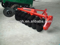 Rotary-driven disc plough for paddy field cultivating