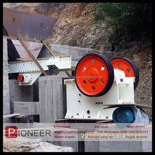 2015 high quality CE ISO certificated jaw crusher animation