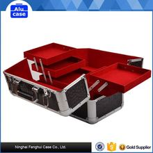 Cases cosmetic aluminum beauty case/box