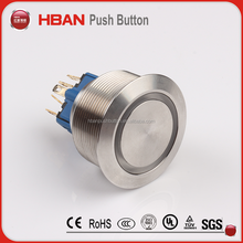 12mm low voltage push button switch