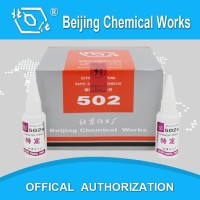 Factory direct, super glue /cyanocrylate glue for shoes repair/construction/woodworking/packing, 502