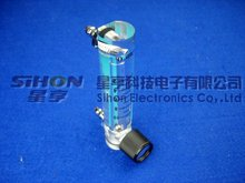 1-14L/min Acrylic flow meter for water treatment: ozone flowmeter, flow rate; air flowmeter;oxygen flowmeter