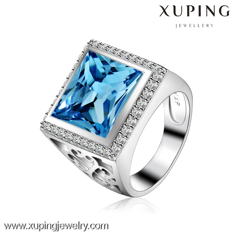 XR1081 Valentine Gift Xuping Fashion crystals from Swarovski Rhodium Gold Lover's Jewellry Gold Ring XR1081