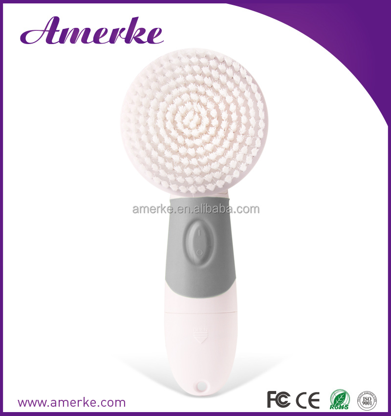 Battery operated electric spin brush hand facial cleaning spin brush facial sonic brush