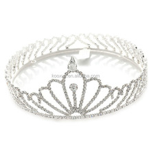 Fashion ornaments Bridal Wedding Party Quality Heart Flower Rhinestone Crystal Tiara wholesale cheap bridal tiaras