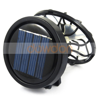 Outdoor Fishing Camping Hiking Solar Power Mini Cooling Fan With Clip