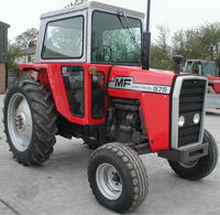 Reconditioned Massey Ferguson 575 agricultural tractor