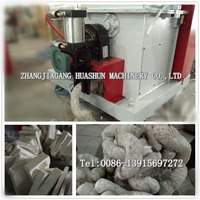 Hot melt compressor crusher machine for waste eps foam